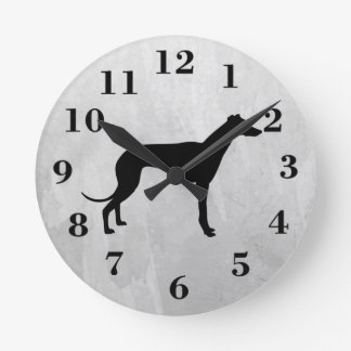 greyhound dog clock