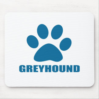 GREYHOUND DOG DESIGNS MOUSE PAD