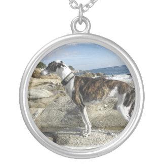 Greyhound Dog Necklace