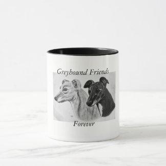 Greyhound Friends Forever Mug