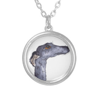 GREYHOUND g293 Silver Plated Necklace