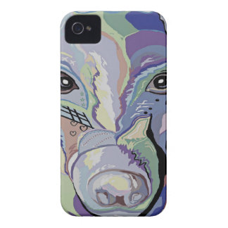 Greyhound in Denim Colors iPhone 4 Cover