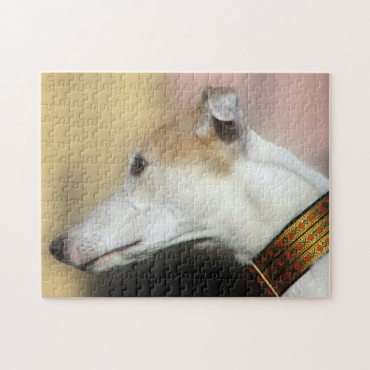 Greyhound jigsaw puzzle (p104)