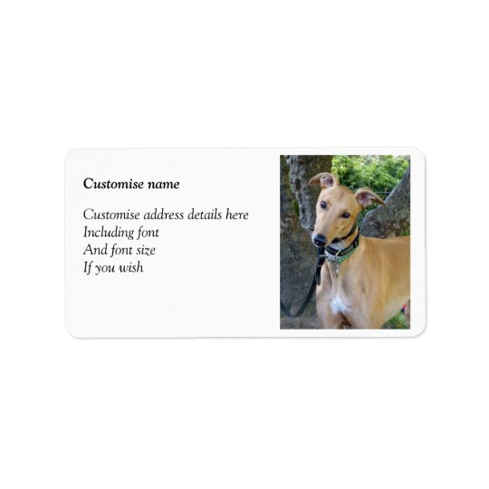 Greyhound labels (p85)