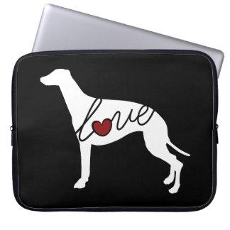 Greyhound Love Laptop Sleeve