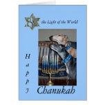 Greyhound Messianic chanukah card