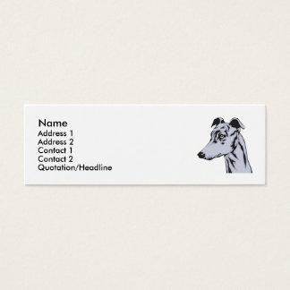 Greyhound Mini Business Card