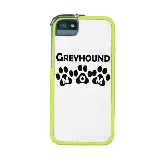 Greyhound Mom iPhone 5 Case