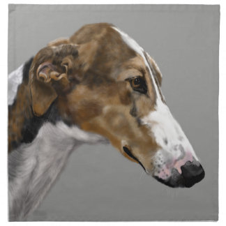 greyhound napkin