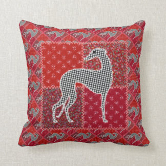 "Greyhound ""of Provence "" Cushion"
