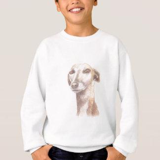 Greyhound portrait sweatshirt
