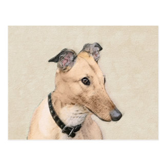 Greyhound Postcard