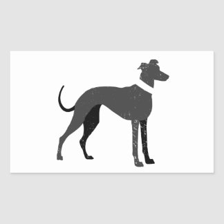 Greyhound Rectangular Sticker