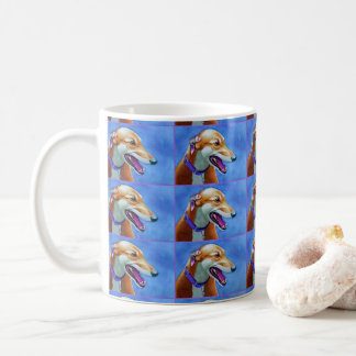 Greyhound Rescue Dog Coffee Mug
