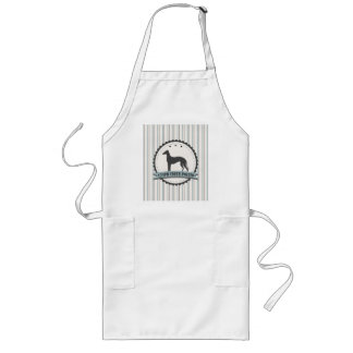 Greyhound Retired Racer 45 mph Lazy Dog Long Apron