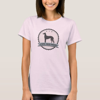 Greyhound Retired Racer 45 mph Lazy Dog T-Shirt