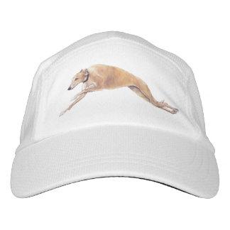Greyhound Running Dog Art Hat