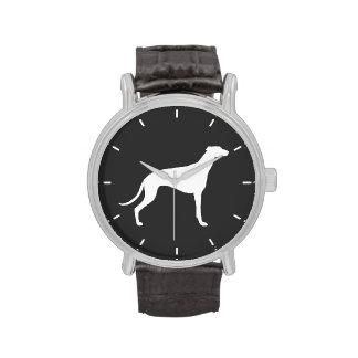 Greyhound Silhouette Wristwatch