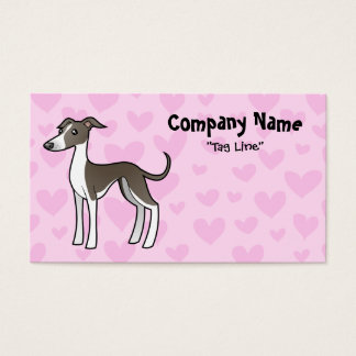 Greyhound / Whippet / Italian Greyhound Love Business Card