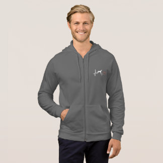 Greyhounds Have My Heart Hoodie