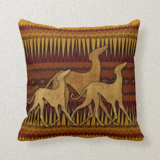 Greyhounds of lAzawakh Cushion