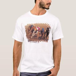 Greyhounds racing on track T-Shirt