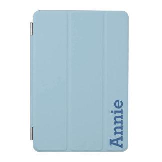 Greyish Green Blue Customizable iPad Mini Cover