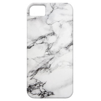 Greyish White Marble iPhone 5 Cases