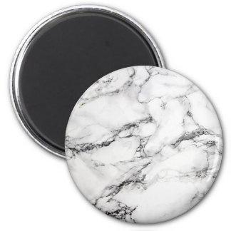 Greyish White Marble Magnet