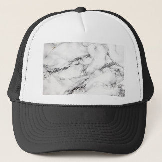 Greyish White Marble Trucker Hat