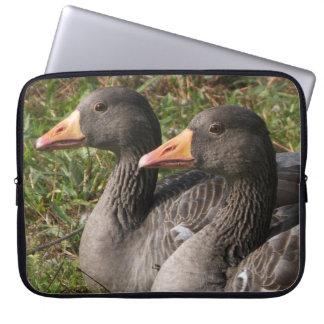 Greylag Geese Computer Sleeves