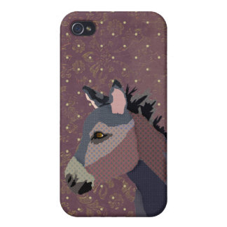 Grey's Donkey Purple  iPhone Case For iPhone 4