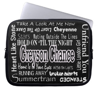 Greyson Chance Laptop Case