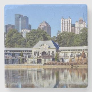 Greystone Piedmont Park Atlanta Marble Coaster