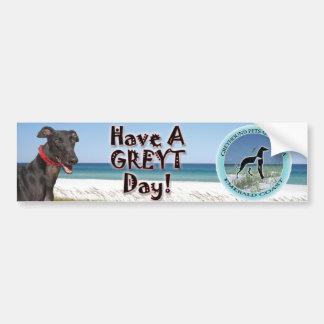 greyt day bumper sticker