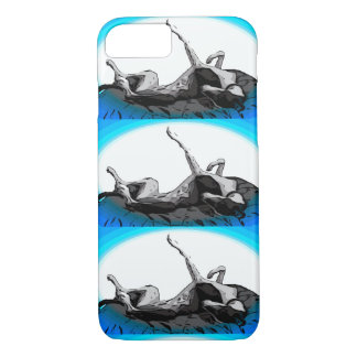 Greyt Greyhound Roach  Triple iPhone 8/7 Case