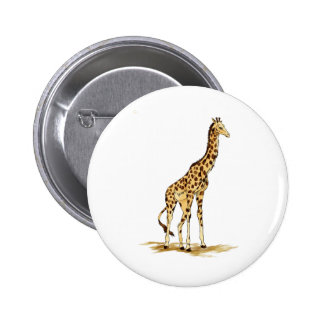 griaffe 6 cm round badge