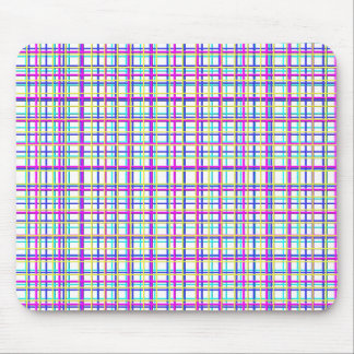 grid azur, grid blue, grid lyla, grid yellow mouse pad