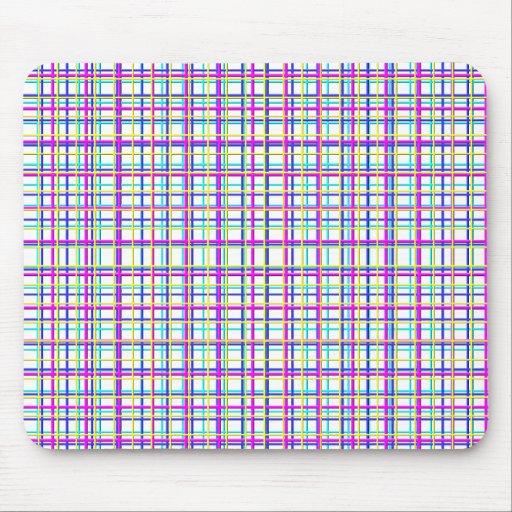 grid azur, grid blue, grid lyla, grid yellow mousepad