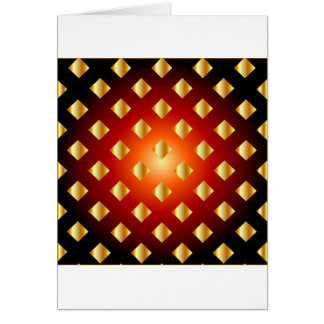 Grid background greeting card