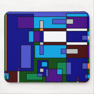 Grid Casual Mouse Pad