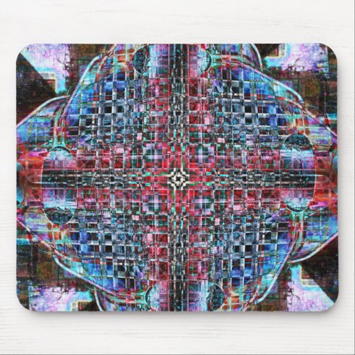 Grid Mouse Pads