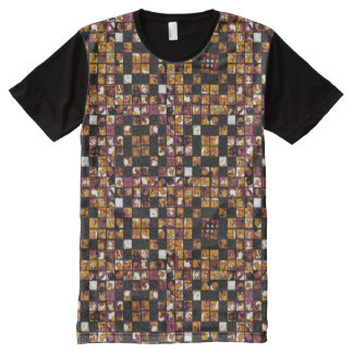 Grid of Cats All-Over Print T-Shirt