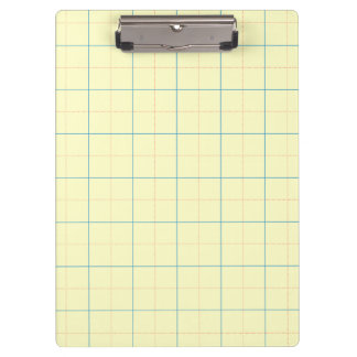 grid pattern blue line red dots clipboard