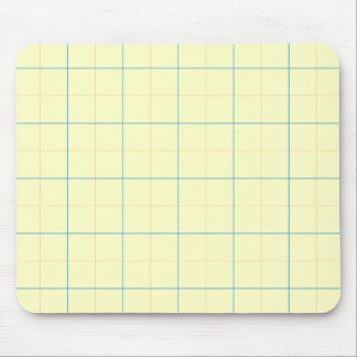 grid pattern blue line red dots mouse pad