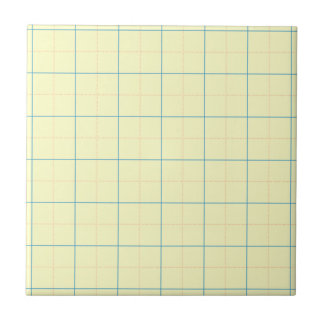 grid pattern blue line red dots small square tile