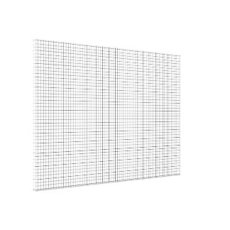grid small stretched canvas print
