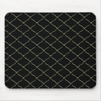 Grid Texture Pattern Mouse Pad