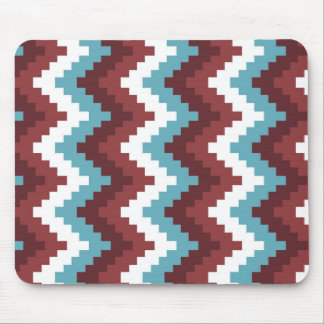 grid wave pattern mouse pad