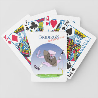 Gridiron - born bred proud, tony fernandes bicycle playing cards